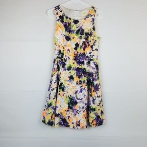 Maeve Anthropologie Floral Dress Size 2 Sleeveless